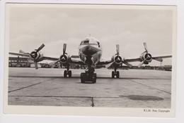 Vintage Pc KLM K.L.M Royal Dutch Airlines Douglas Dc-6B @ Schiphol Amsterdam Airport - 1919-1938: Fra Le Due Guerre