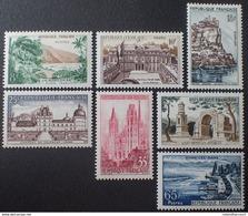 Timbres 1125 1126 1127 1128 1129 1130 1131, Neufs Sans Charnière, Cote 3,80€ - Neufs