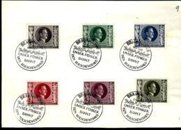 ALLEMAGNE 1943 LETTRE DE BRAUNAU - UNSER FÜHRER BAND DEN BOLSCHEWISMUS - Allemagne
