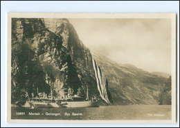Y15276/ Maraak  Geiranger  Syv Söstre  Norwegen Foto AK Ca.1932 - Norvège