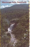 TARJETA DE SWAZILAND DE UNA CATARATA  (WATERFALL,CASCADA) - Swaziland