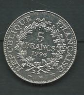 France 5 Francs 1996 - Pieb 22612 - France