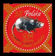 Poland 2020 Mih. 5182 Lunar New Year. Year Of The Rat MNH ** - Unused Stamps