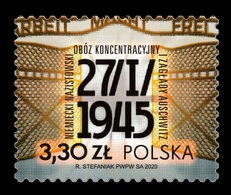 Poland 2020 Mih. 5183 World War II. Liberation Of German Nazi Concentration And Extermination Camp Auschwitz MNH ** - Unused Stamps