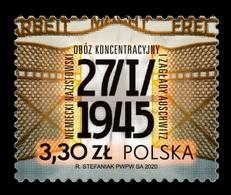 Poland 2020 Mih. 5183 World War II. Liberation Of German Nazi Concentration And Extermination Camp Auschwitz MNH ** - 1944-.... République
