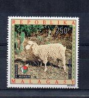 MADAGASCAR - 1972 - Tematica Animali - Capra Mohair - Nuovo ** - (FDC19763) - Madagascar (1960-...)