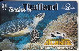 AUSTRIA - Turtle, Thailand/Atlantis, CN : 909L, Tirage 760, 03/99, Used - Tartarughe