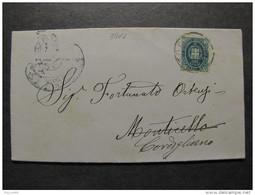 """3816 ITALIA Regno-1889- """"Stemma"""" C. 5 TODI>CORDIGLIANO (descrizione) - 1878-00 Humbert I."""