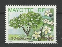 MAYOTTE  2006 FRANGIPANI,PLANT,FLOWER  MNH - Mayote (1892-2011)