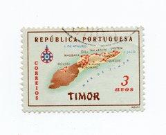 PORTUGAL»TIMOR»1956»USED - Timor