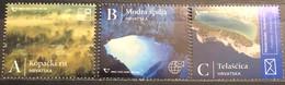 Croatia, 2020,Definitive Issue. Natural Wonders. Nature Parks Kopacki Rit And Telascica. Blue Cave (MNH) - Croatia