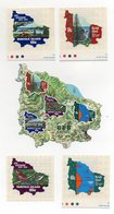 ISOLA NORFOLK - 1974 - Centenario U.P.U. - 4 Valori + Vignetta -  Autoadesivi - Nuovi ** - (FDC19764) - Isola Norfolk
