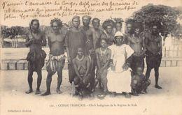 Congo Français - NOLA Chefs Indigènes - Ed. J. Audema 322. - Französisch-Kongo - Sonstige