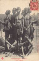 Congo Français - Types  Langouassi - Ed. J. Audema. - Französisch-Kongo - Sonstige