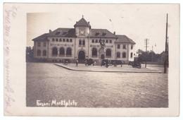 Romania Focsani Palatul Justitiei Marktplatz - Romania