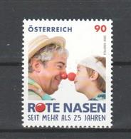 """Österreich 2020: """"Rote Nasen Clowndoctors"""" Postfrisch (siehe Foto/ Scan) - 2011-... Ungebraucht"""