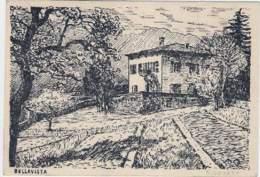 """1930circa-""""Rovereto-Bellavista"""" Con Scritto - Trento"""