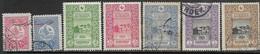 Turkey  1916  7 Diff Used   2016 Scott Value $7 - 1858-1921 Ottoman Empire