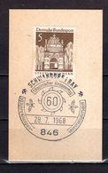 Kartenstueck, Stettin, SoSt Knappentag Schwandorf 1968 (90530) - Machine Stamps (ATM)