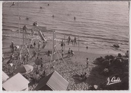 SAINT BREVIN L'OCEAN (44) : CLUB DES PINGOUINS - PROFESSEURS ANDRE ET VRINAT - CPSM GRAND FORMAT - ECRITE 1954 - R/V - - Saint-Brevin-l'Océan