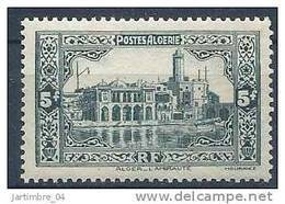 1936-37 ALGERIE 124** Alger Amirauté - Neufs