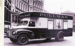 Austin Lodestar Camion (1953) Avec Publicité Pour PULLMAN     -  15x10 PHOTO - Camión & Camioneta
