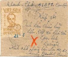 Lettre- Enveloppe Vietnam/ Indochine - Viêt-Nam