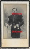 Oorlog Guerre Hubert Vermeire Hamme Soldaat Vestingsarttilerie Gesneuveld September 1917 Doodsprentje Bidprentje - Devotion Images