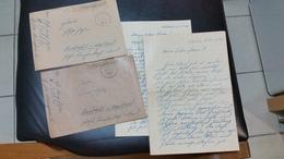 LOT   DE  2  LETTRES  DE  SOLDAT  ALLEMAND DU  86st  HERMANN  GORING 1943 - Documents