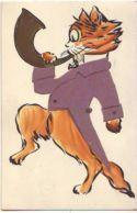 N°14325 - Chat Habillé Jouant De La Musique - Style Wain - Vêtement En Tissu - Animali Abbigliati