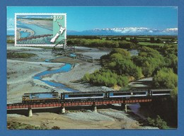 New Zealand 1997  Mi.Nr. 1616 , Panorama Eisenbahnstrecken - Maximum Card - First Day Of Issue  6. August 1997 - Used Stamps