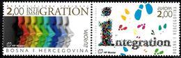 Bosnie Croate - Europa CEPT 2006 - Yvert Nr. 149/150 - Michel Nr. 171/172  ** - 2006