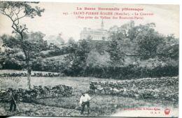 N°2823 T -cpa Saint Pierre Eglise -le Couvent- - Saint Pierre Eglise