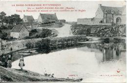 N°2829 T -cpa Saint Pierre Eglise -étang De Hacouville- - Saint Pierre Eglise