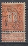 COB N° 108 Oblitération NORDERWYCK-MORCKHOVEN 1913 - 1912 Pellens