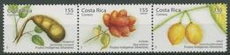 Costa Rica 2006 Einheimische Waldfrüchte 1644/46 ZD Postfrisch (C25294) - Costa Rica