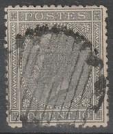 COB N° 17 Oblitération RURALE - 1865-1866 Profil Gauche