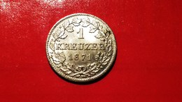 BAYERN 1 Kreuzer 1871 Super Erhaltung !!!  Ludwig II (1864-1886) - [ 1] …-1871: Altdeutschland