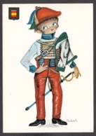 93948/ Illustrateur CASTANER, Militaire, *Uniformes Europeos, Espana* - Autres Illustrateurs