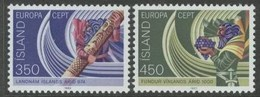 Cept 1982 Islande Iceland IJsland Yvertn° 531-532 *** MNH Cote 8,00 Euro - 1944-... Republique