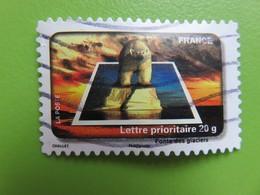 Timbre France YT 414 AA - Fête Du Timbre - L'eau - Fonte Des Neignes (ours Polaire Sur Un Bloc De Glace) - 2010 - Francia