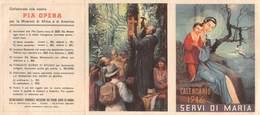 "1018"" CALENDARIO 1946 SERVI DI MARIA  PIA OPERA "" - Religion & Esotericism"