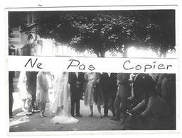 Lot 5 Photos 115x85mm Mariage BESANCON Doubs Jardins Parc Hôtel Des Bains 1928 - Altri