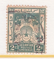 KELANTAN  17   (o)   Wmk.  4 - Kelantan