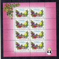 RUSSIA - 1992 - Foglietto Nuovo Anno - 9 Valori - Nuovo ** - (FDC19776) - 1992-.... Federazione
