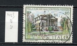 Italie - Italy - Italien 1980 Y&T N°1465 - Michel N°1733 (o) - 80l Villa Foscari Malcontenta - 1946-.. République