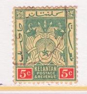 KELANTAN  20    (o)   Wmk.  4 - Kelantan