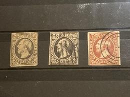 Luxemburgo Nº 1/2. - 1852 William III