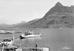 """1020""""NORVEGIA-NARVIK TRAGHETTO CON CORRIERA""""   CARTOL ORIGINALE - Norvège"""
