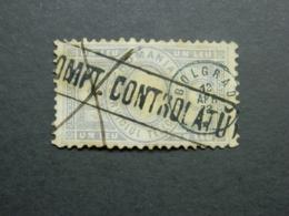 1872 Telegraph Stamp - Telegraphenmarken